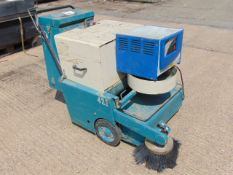 Tennant 42E Walk Behind Electric Sweeper C/W Charger
