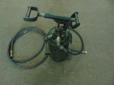 1 x LARGE GREASE (ODDY) GUN WITH EXTRA HOSE