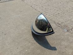 CURVED VEHICLE MIRROR