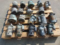 LAND ROVER ALTERNATORS AND STARTERS X 19