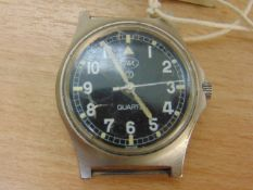 EXTREMELY RARE CWC FAT BOY W10 SERVICE WATCH