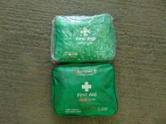 2 x FIRST AID KITS
