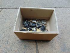 BOX OF PADLOCKS