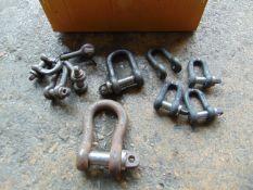 Various shackles