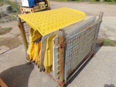 16 x SafeKerb Pavement Ramp-Road Plates