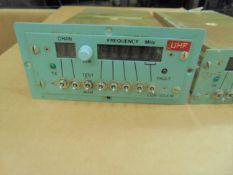 2 x UHF CONTROL UNITS