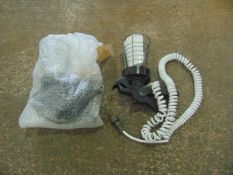 2 x INSPECTION LAMPS WITH FLEXIBLE CORD