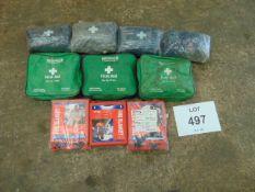 7 x First Aid Kits & 3 x Fire Blankets