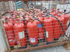 32 x Fire Extinguishers