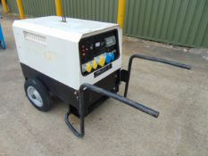 MHM MG 6000 SSY 6KVA Diesel Generator ONLY 1,362 HOURS!