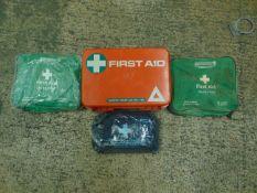 4 x First Aid Kits