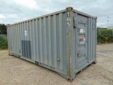 Front Line Ablution Unit in 20ft Container with hook loader, Twist Locks Etc