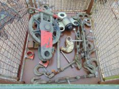 RECOVERY EQUIPMENT INCLUDING SNATCH BLOCK, SHACKLES, TIE DOWNS ETC