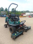 Ex Council Hayter LT322 Triple Gang Ride on Mower ONLY 3,529 HOURS!