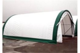 Heavy Duty Storage Shelter 20'W x 30'L x 12' H P/No 203012R