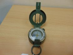VERY NICE UNISSUED STANLEY MARCHING PRISMATIC COMPASS