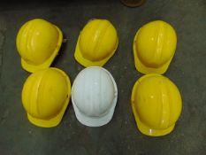 6 x HARD HATS