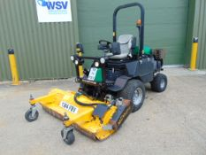 2014 Ransomes HR300 C/W Muthing Outfront Flail Mower ONLY 2,395 HOURS