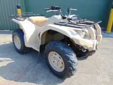 Military Specification Yamaha Grizzly 450 4 x 4 ATV Quad Bike Complete with Winch ONLY 203 HOURS!