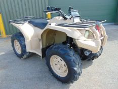 Military Specification Yamaha Grizzly 450 4 x 4 ATV Quad Bike Complete with Winch ONLY 826 HOURS!