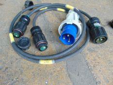 Power leads, as used on FEPS generators.