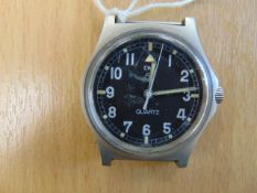 V.V. RARE CWC FAT BOY 0552 ROYAL MARINES/ NAVY ISSUE SERVICE WATCH DATED 1981 - FALKLANDS WAR