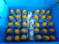 30 x Unissued Lifesaver 400UF ultra filtration water bottles, with storage box