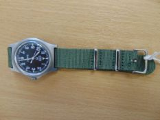 CWC W10 SERVICE WATCH NATO MARKED DATED 2005 WATER RESISTANT TO 5ATM.