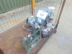 LISTER/ PETTER 6KVA DIESEL GENERATOR 525 HOURS FROM MOD