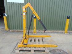 Heavy Duty Folding Floor / Workshop Crane 508Kg Capacity