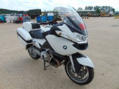 Ex UK Police 1 Owner 2014 BMW R1200RT Motorbike ONLY 24,097 Miles!