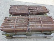 Pallet of 2ft Long Pickets/Angles