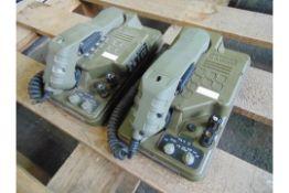 2 x Racal RA2000 PTC414 Combat Field Telephones