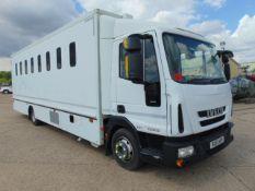 2011 Iveco Eurocargo 100E18 Day Cab Box Van 4x2 3.9L Diesel - Prison/Secure Transport Vehicle