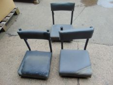 3 x Land Rover FFR Operators Seat