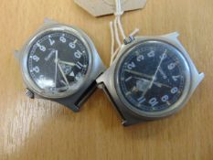 2X W10 CWC SERVICE WATCHES -DAMAGED GLASS DATED 1991 / 1997