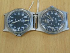2X CWC SERVICE WATCHES DATED 1998/1990
