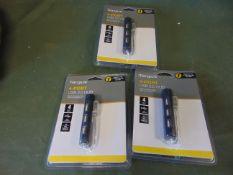 3 x Targus 4-Port USB Hubs *Unused*