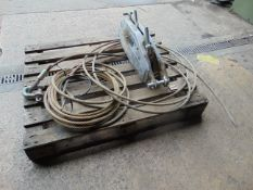 TRACTEL TU32 TIRFOR WINCH WITH WINCH ROPE
