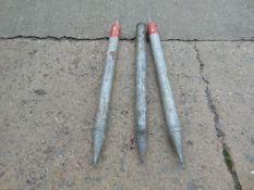 3 x Crew Shelter Poles