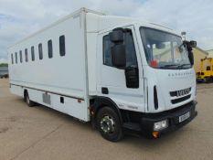 2011 Iveco Eurocargo 100E18 Day Cab Box Van 4x2 3.9L Diesel - Prison/Secure Transport