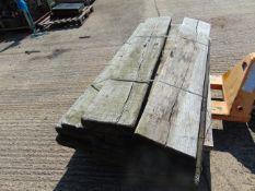 Pallet of 6ft Long Gun Planks