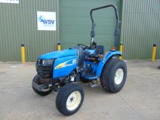 New Holland T1570 Compact Tractor shows ONLY 2,488 HOURS!