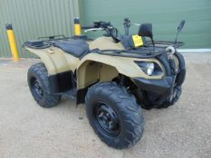 Military Specification Yamaha Grizzly 450 4 x 4 ATV Quad Bike Complete with Winch ONLY 950 HOURS!