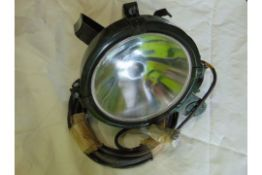 UNUSED FV ISSUED SEARCHLIGHT A1 CONDITION C/W BRACKET, LEAD AND PLUG
