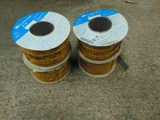 4 x Reels of 3M Scotch-Seal 25mm x 60m