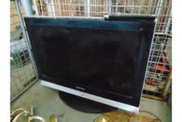 Samsung Flat Screen TV and Various Light Fittings