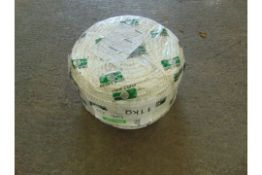 1 x REEL OF COTESI BRAIDED ROPE, 9mm 220m LONG