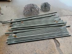 30 x Cam poles 10 x Large Spreaders & 10 x Small Spreaders