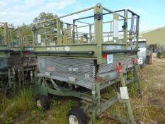 UK Lift Aircraft Hydraulic Access Platform from RAF as Shown
